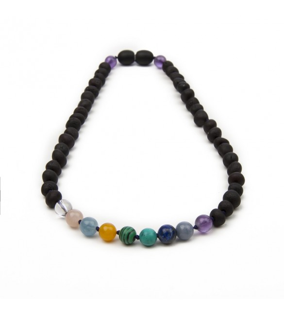 Amber teething necklace - Gemstone