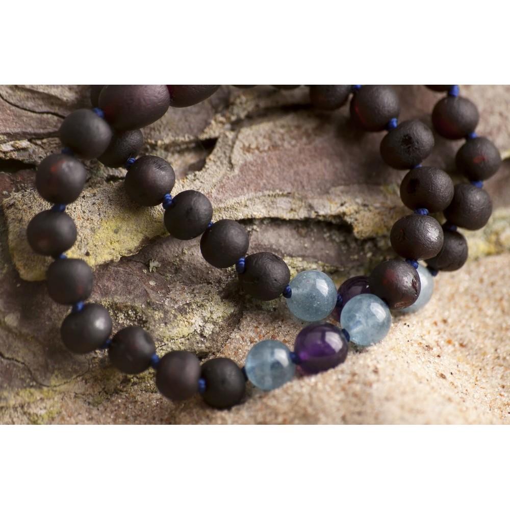 teething bracelet - Gemstone - precious stones