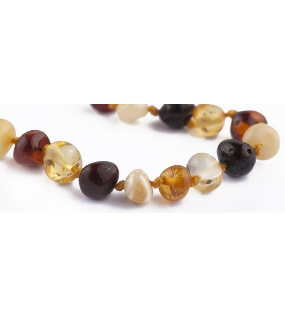 Amber baby Bracelets Polished Mix