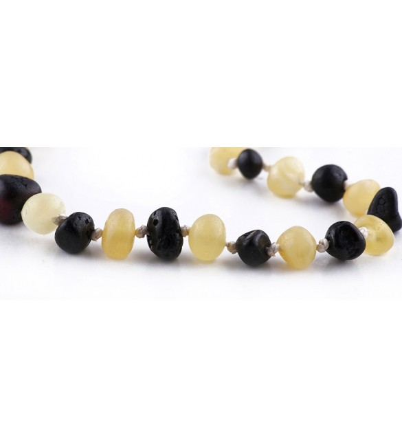 Amber baby Bracelets Baroque Raw Milk x Cherry