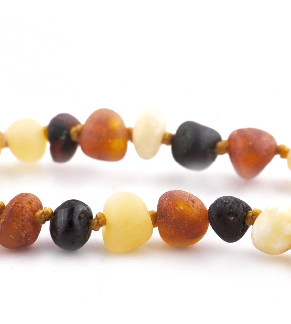 Amber baby Bracelets Baroque Raw Mix